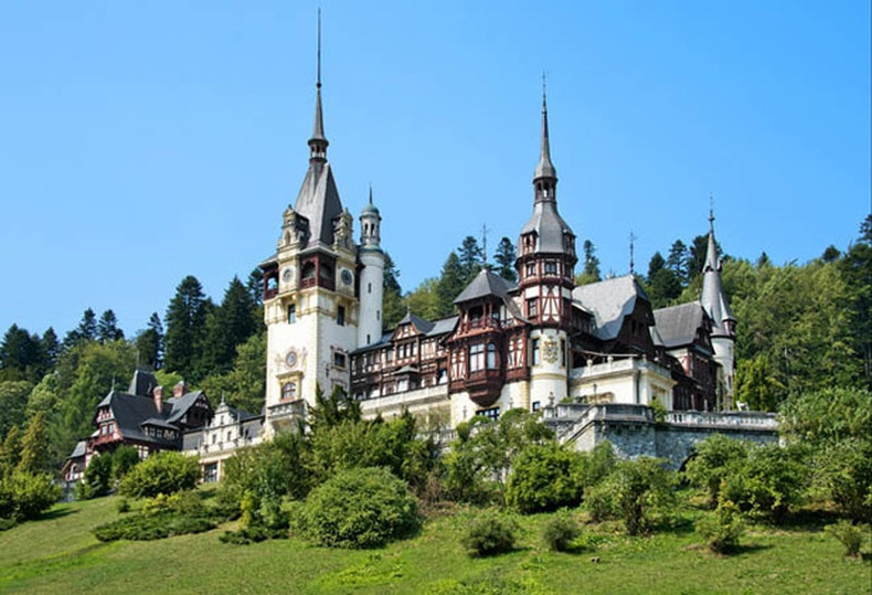 Пелес цайз, Румын (Peleș Castle)