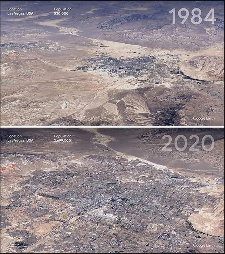 Лас Вегас - АНУ