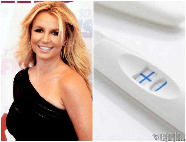 Бритни Спирсийн жирэмсний тест