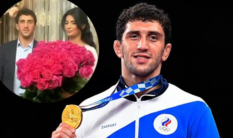 Дуулиантай, нулимстай хуримын дурсамжаа мартаж, олимпын аварга болсон Заурбек Сидаковын түүх