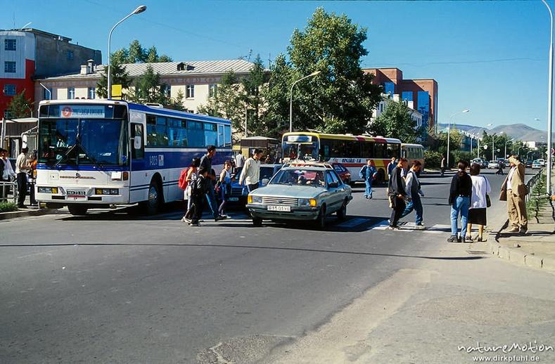 Ард кино театрын автобусны буудал, Улаанбаатар