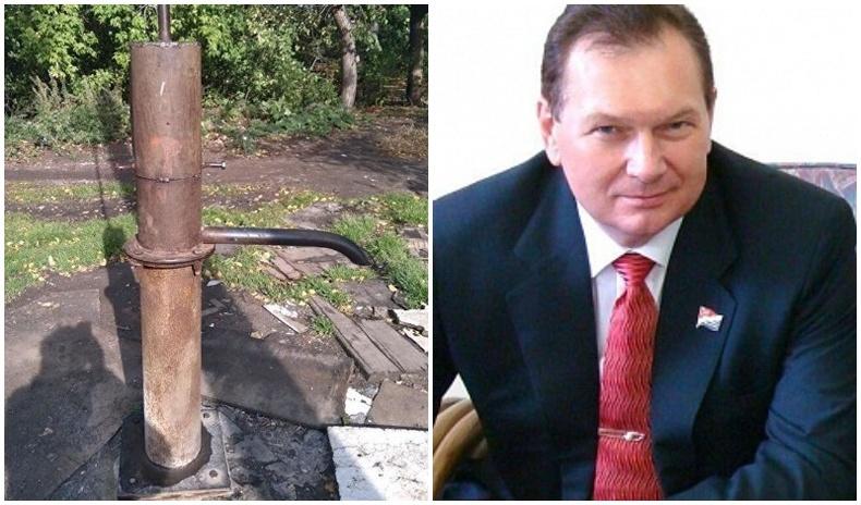 Сонгуульд ялагдсан Оросын депутат тойргийн иргэдээ ундны усгүй болгожээ