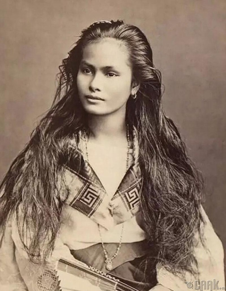 Ил захидал дээрх Филиппин эмэгтэйн зураг - 1909