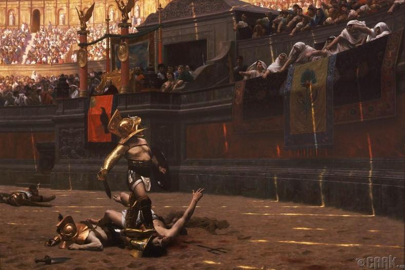 Гладиаторууд өөрийнхөө цаг үеийн секс бэлгэ тэмдэг болдог байжээ