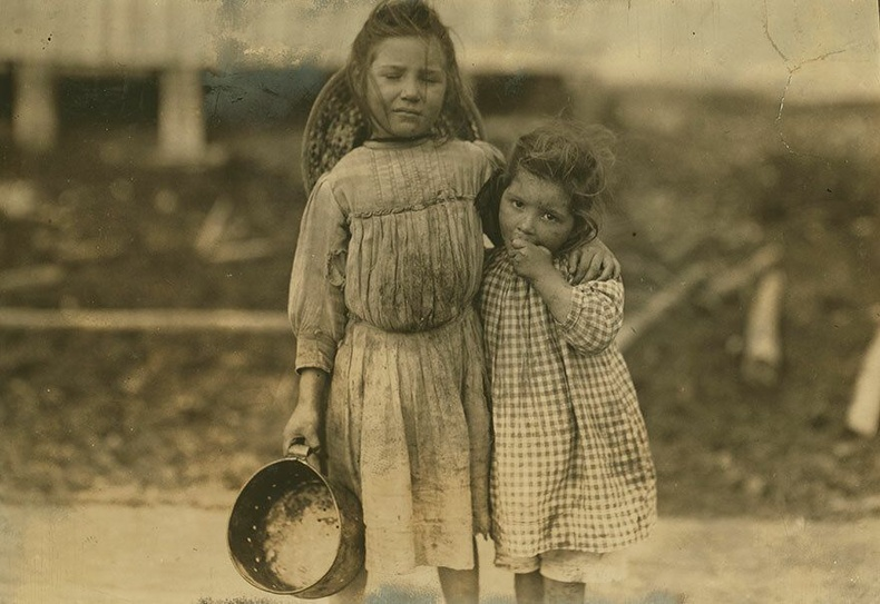 5 настай Мод Дэли, 3 настай Грэйс Дэли нар, Миссиссиппи муж - Сам хорхой барьж тушаадаг