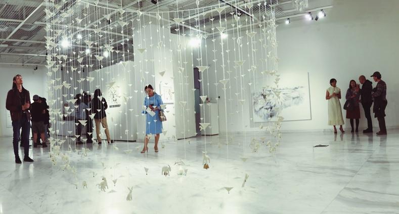 """Уран бүтээлч Ж.Анунаран ХААН Галерейд """"Хайр"""" үзэсгэлэнгээ нээлээ"""