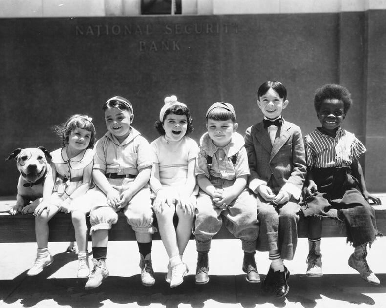 Бяцхан найзууд. 1935 он