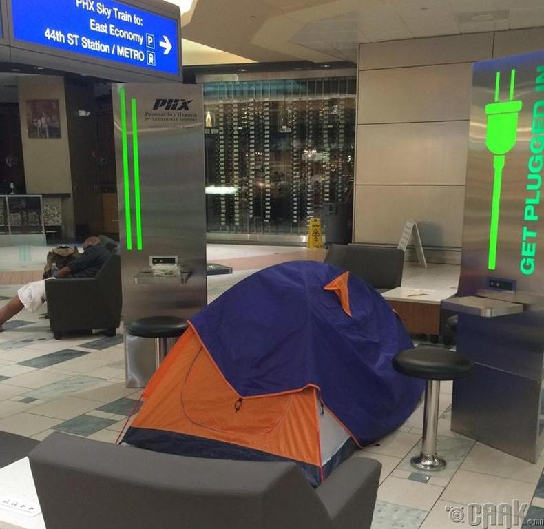 """""""Онгоцны буудал дээр хувийн орон зай хэрэг болсон нь..."""""""