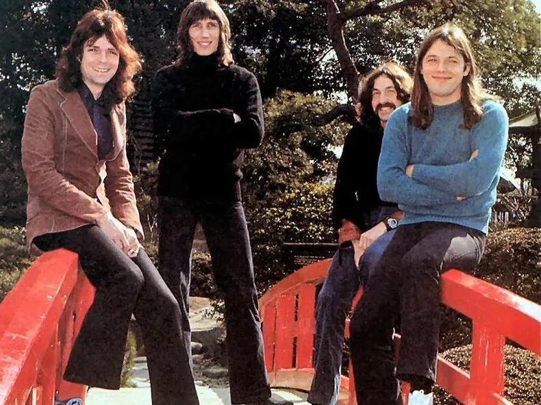 """""""Pink Floyd"""" хамтлаг. Япон, 1972 он"""