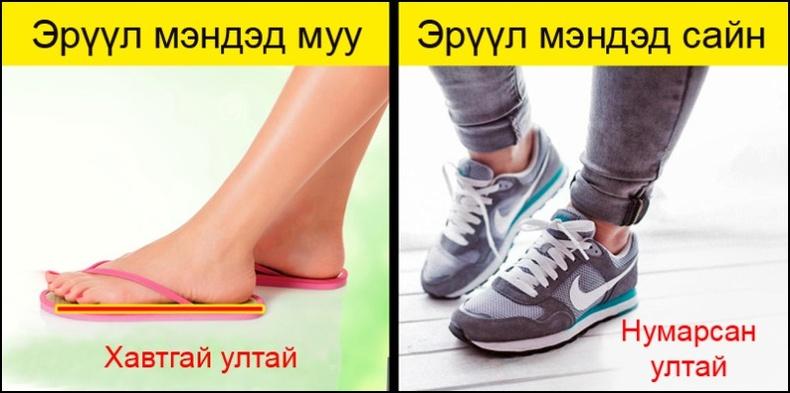 Эрүүл мэндэд хортой хувцаслалт