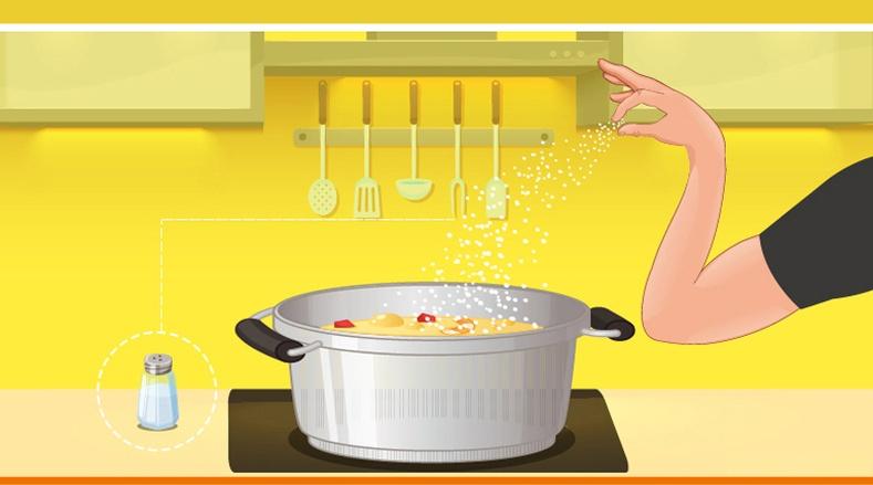 Давсыг хэзээ хийвэл хоол амттай болдог вэ?