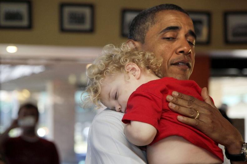 Барак Обамагийн олонд дэлгэгдээгүй ховор зургууд