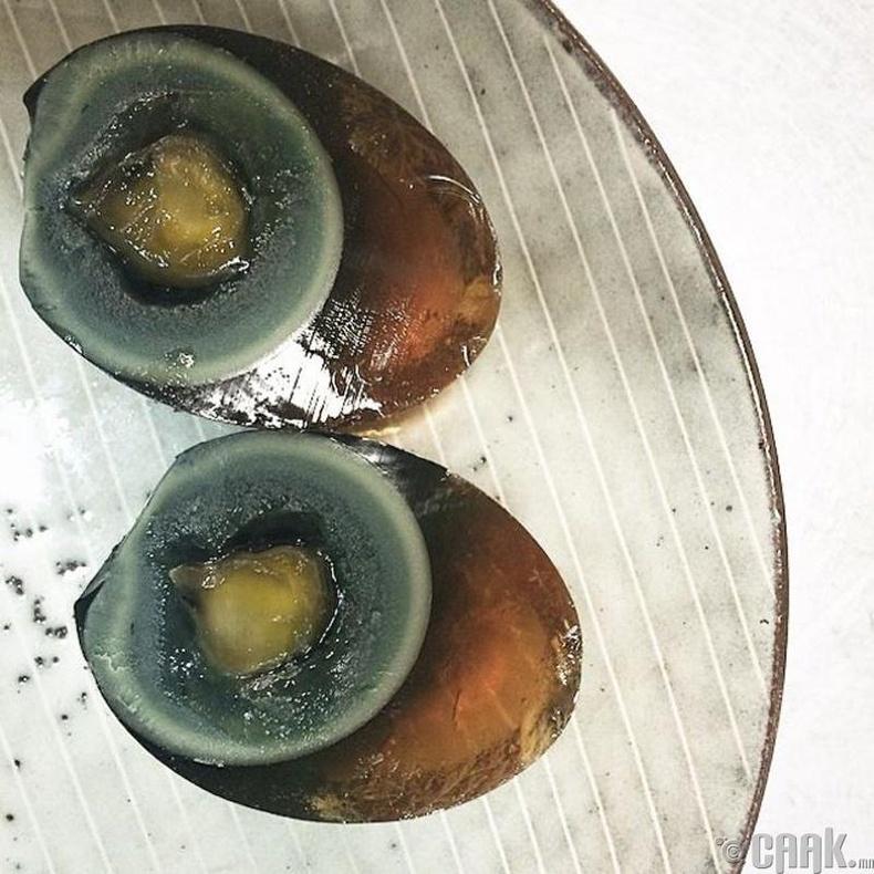 Олон зууны өндөг - Хятад