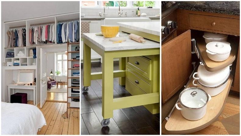 Жижиг талбайтай орон сууцанд зориулсан интерьерийн гайхалтай санаанууд