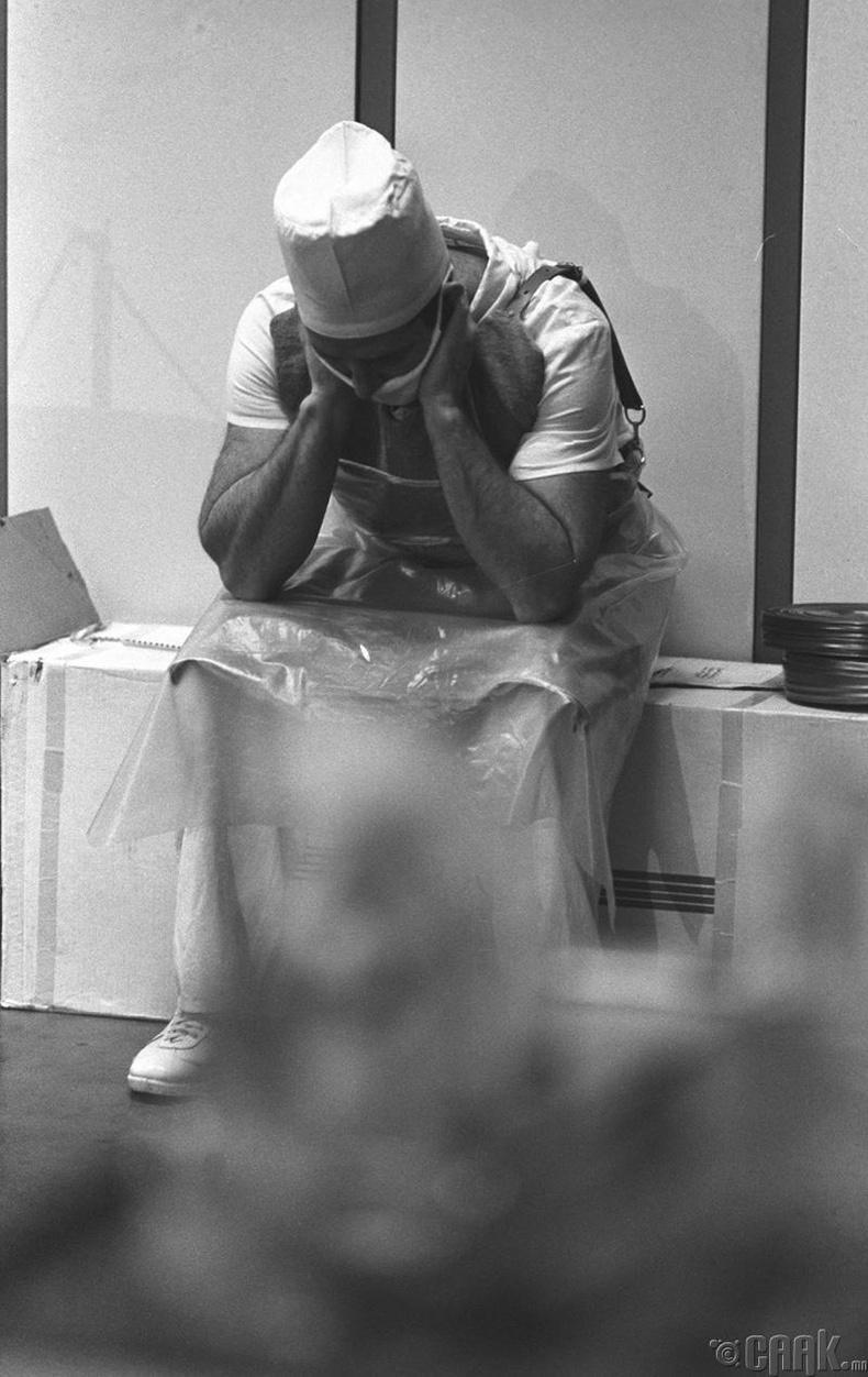 Чернобылийн гамшгийн дараа зүрхний мэс масал хийсэн эмч, 1990 он
