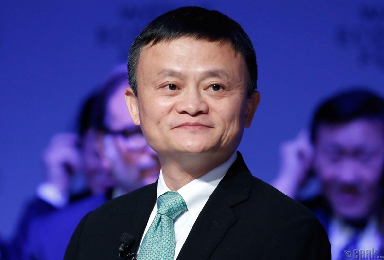 Жек Ма (Jack Ma), 38.2 тэрбум ам.доллар