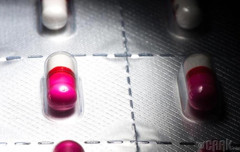 Харшлын эм бус, хүчтэй антибиотик уух