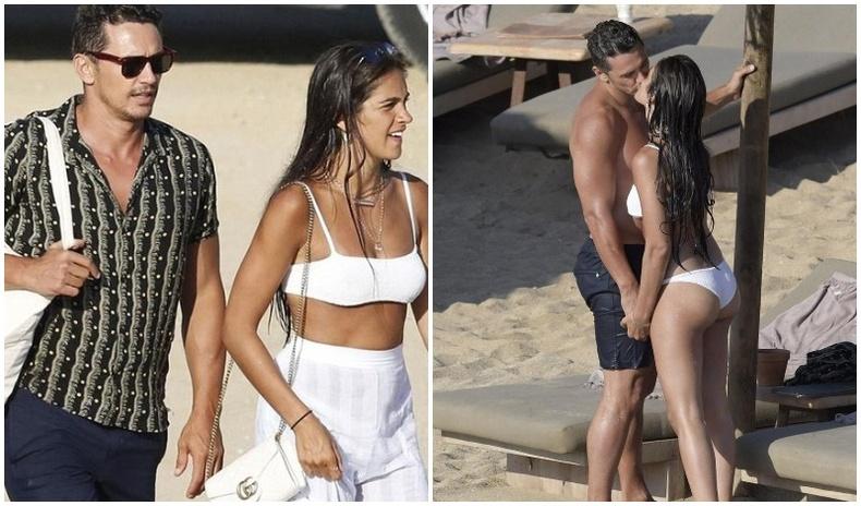 Жүжигчин Жэймс Франко залуу амрагтайгаа Грект зугаалж байна