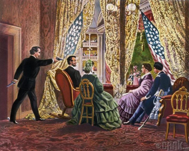 Форд театрт Авраам Линкольныг хөнөөсөн нь