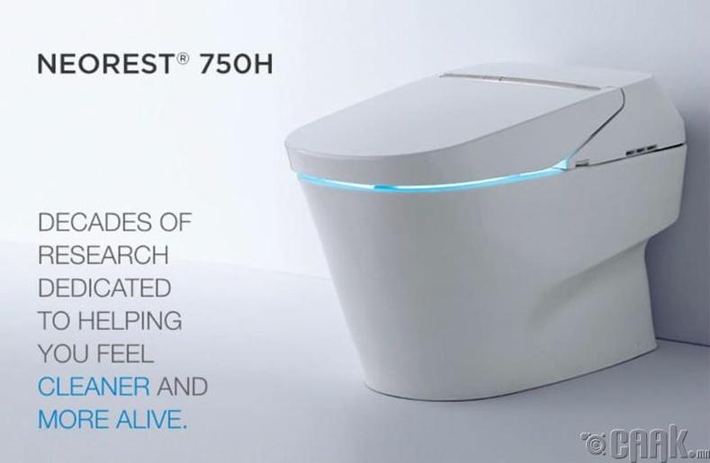 """""""Neorest 750H"""" шидэт суултуур- 10,200 доллар"""