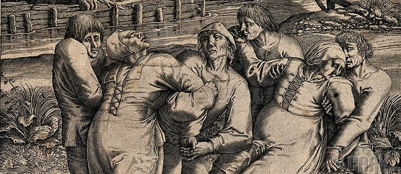 Бүжиглүүлдэг тахал, 1518 он
