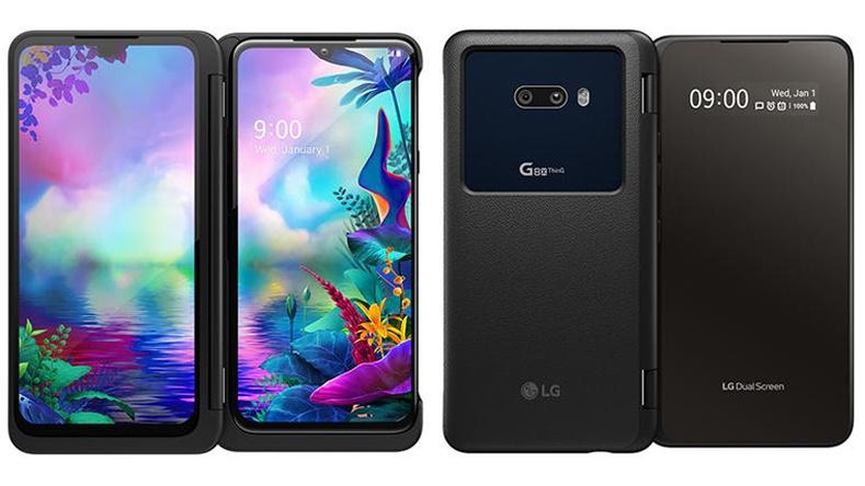 2 дэлгэцтэй ухаалаг утас - LG G8X 2019