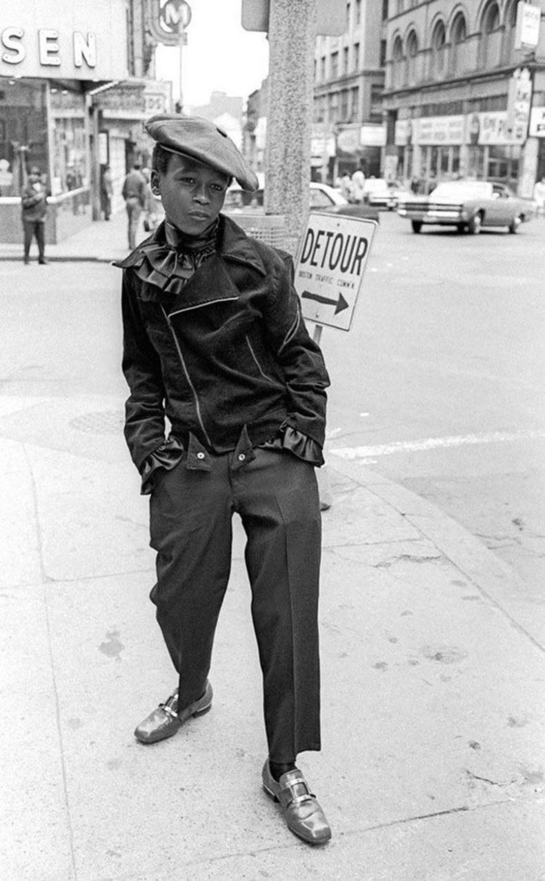 Бостон, АНУ. 1968 он