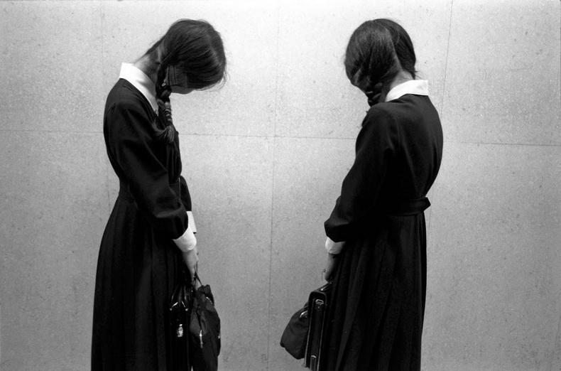 Ахлах сургуулийн сурагчид- Токио хот, 1979 он