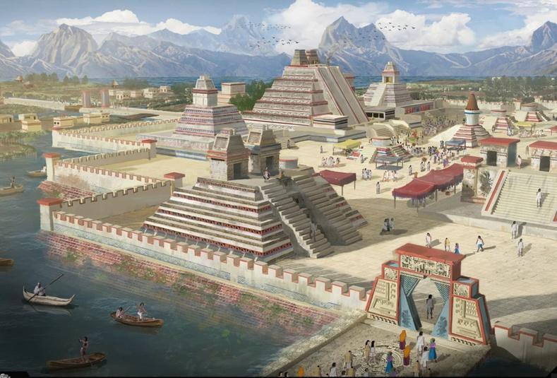 Эртний Ацтекчууд хэрхэн намаг дунд нэг сая хүнтэй нийслэл хотоо байгуулсан бэ?
