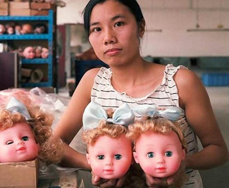 Хятадууд хүүхдийн тоглоомыг ингэж хийдэг