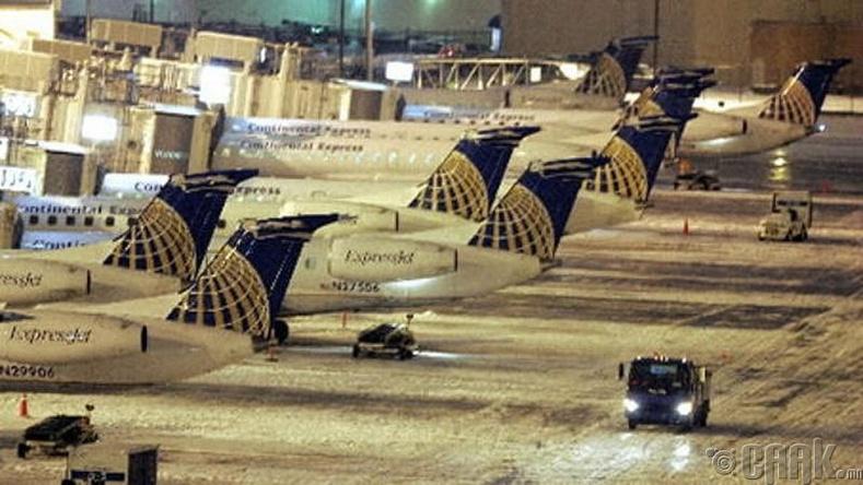 """""""Кливленд Хопкис"""" олон улсын нисэх онгоцны буудал, АНУ"""