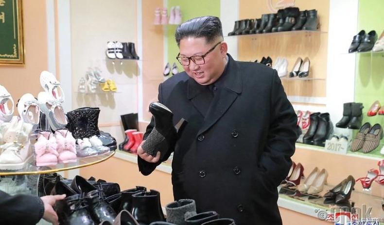 Вонсан хот дахь гутлын үйлдвэрт