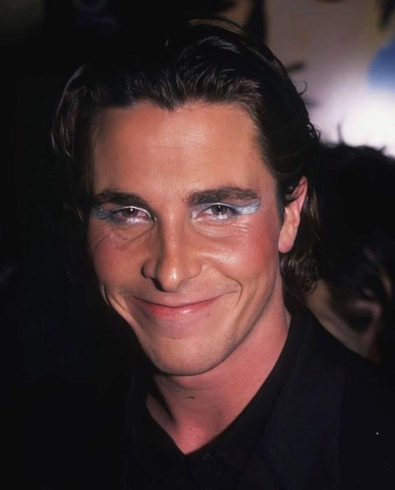 """Жүжигчин Кристиан Бэйл """"Velvet Goldmine"""" киноны нээлтийн үеэр, 1998"""