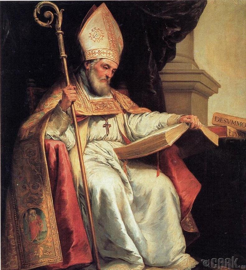 Ватиканы Исидор Севильский буюу интернетийг эзэмдэгч гэгээнтэн