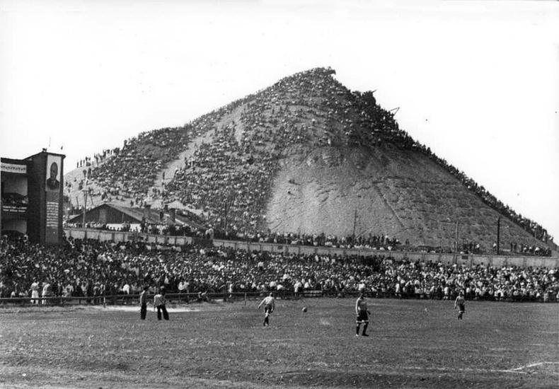 Хөлбөмбөгийн тоглолтын үзэгчид - Украин, 1930-аад он