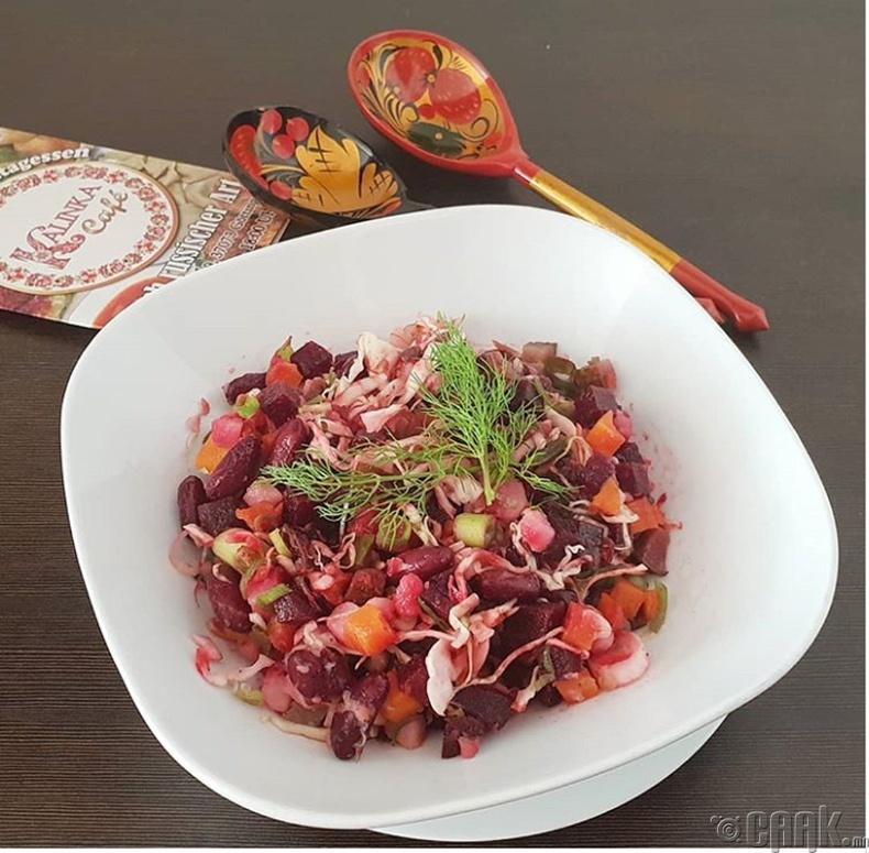 Винегрет салат