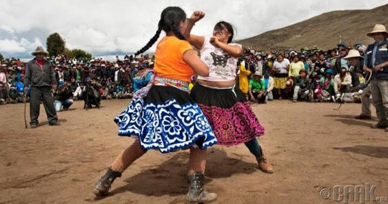 Таканакуй нударган зодоон, Перу