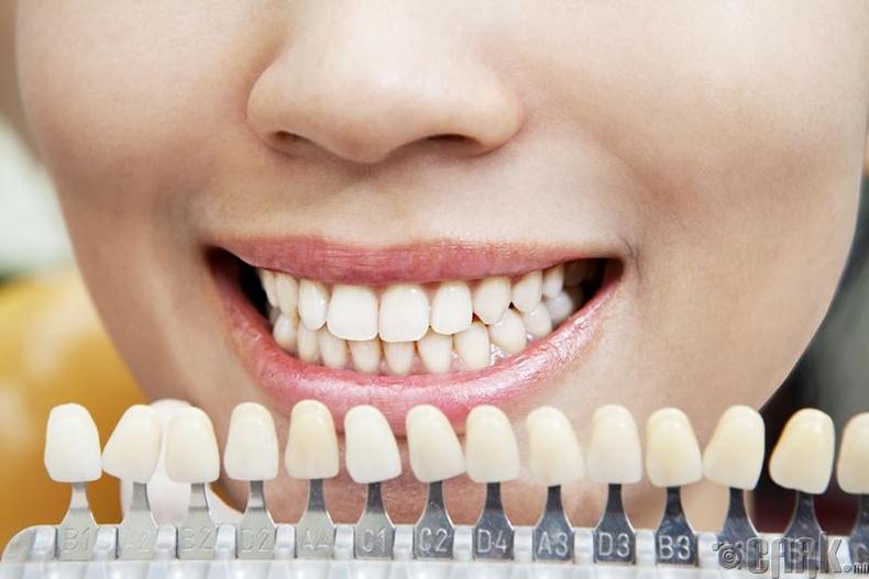 """""""Цайруулах шүдний оо, шар өнгөрийг багасгадаг"""""""