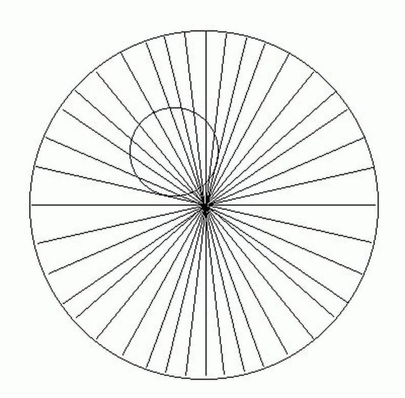 Хоёр тойрог хоёулаа тэгш хэмтэй байна уу?