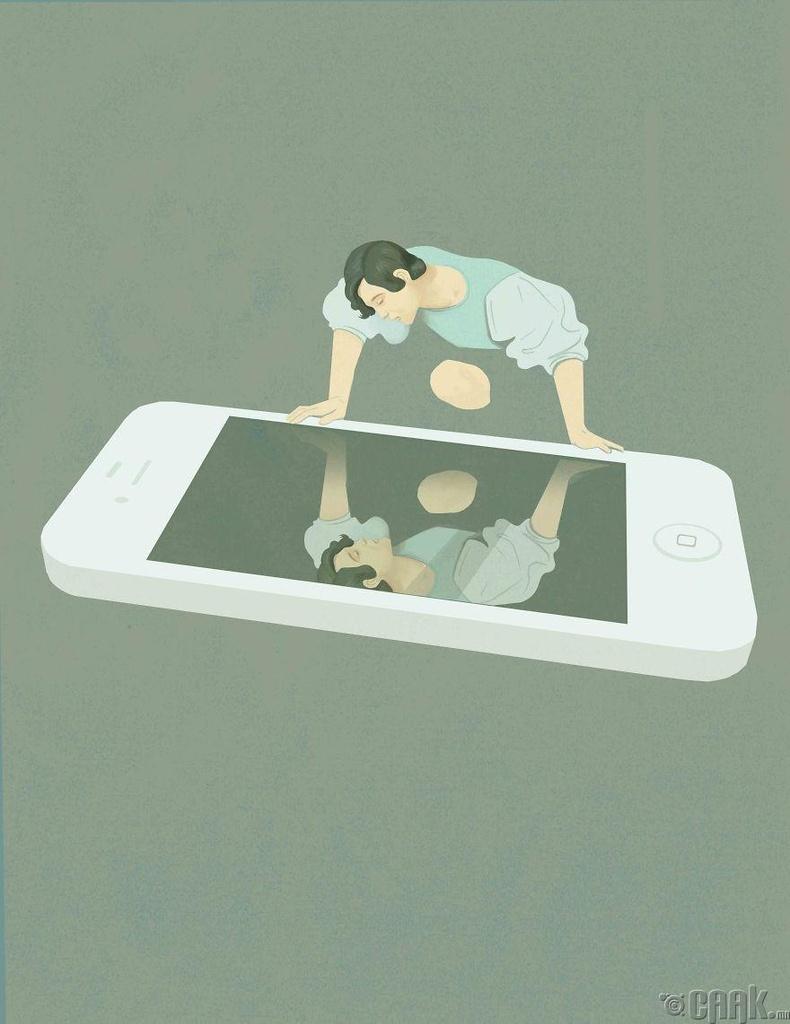 Олон нийтийн сүлжээнд хэт донтох нь өөрийгөө тахин шүтэх үзлийг таны тархинд бат суулгадаг.
