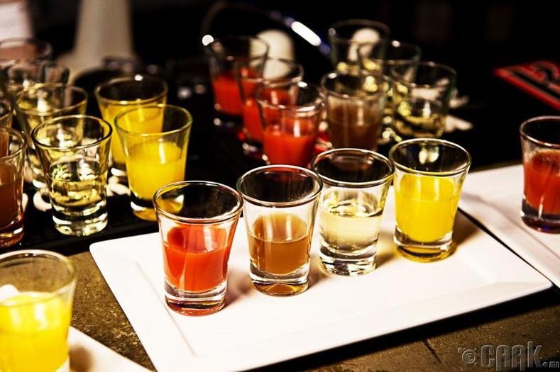 Согтууруулах ундаа ихээр уух