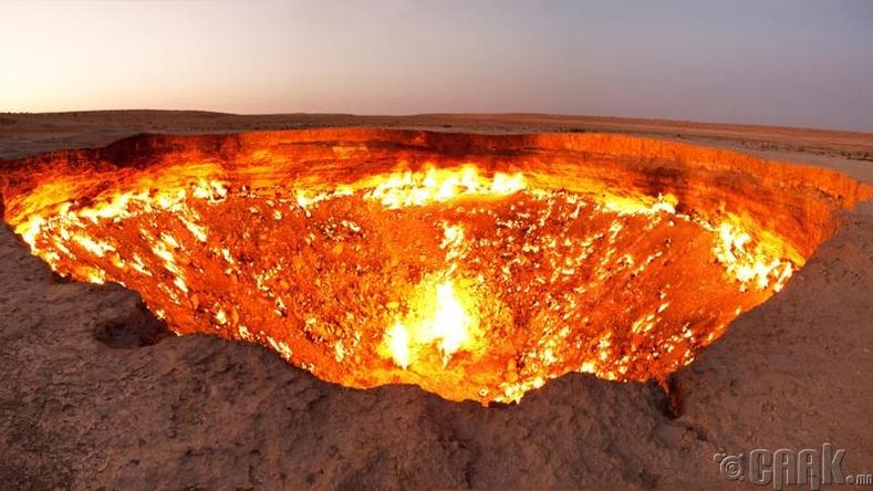 Тамын хаалга, Туркменистан