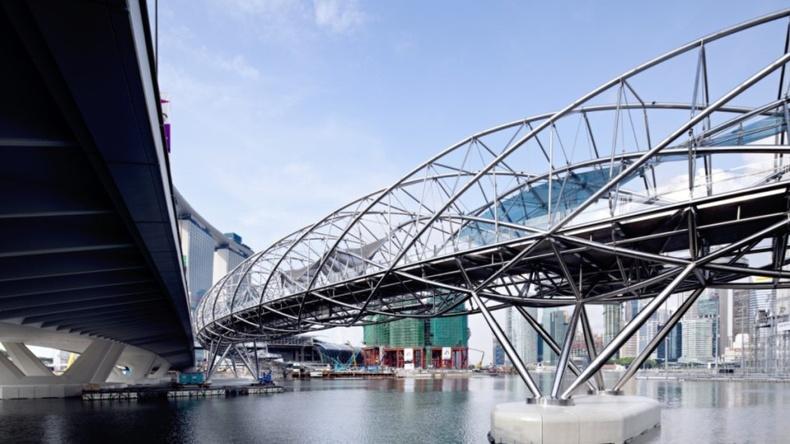 Helix Bridge, Сингапур