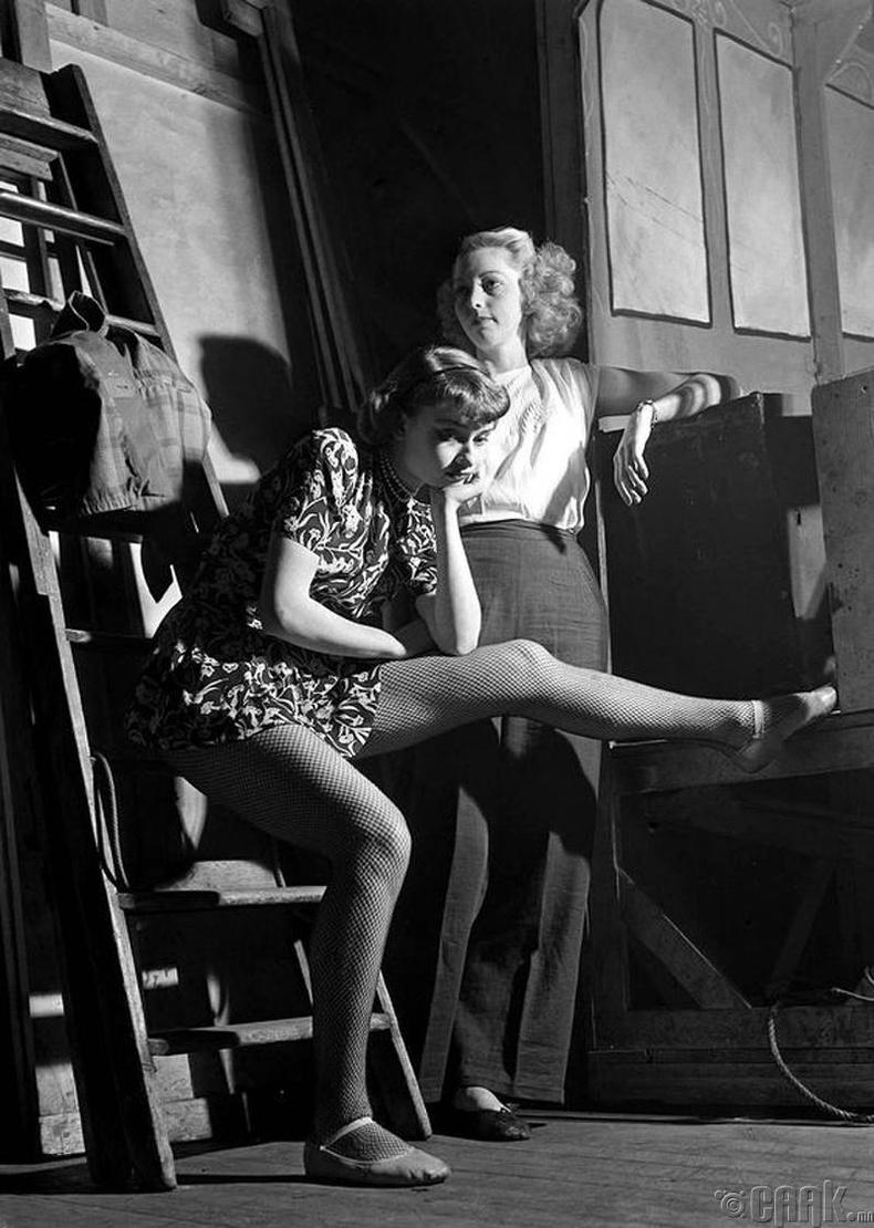 Жүжигчин Одри Хепберн (Audrey Hepburn) - 1948 он