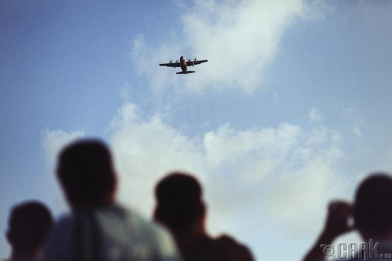 Онгоцыг агаарт юу тогтоодог вэ?