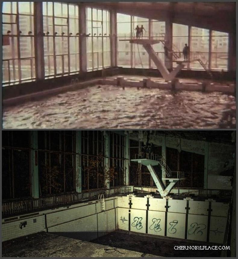 Чернобыл - 1984 он болон 2011 он.