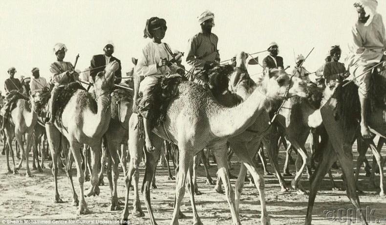 Дубай руу орж ирж буй тэмээн жин, 1960-аад он