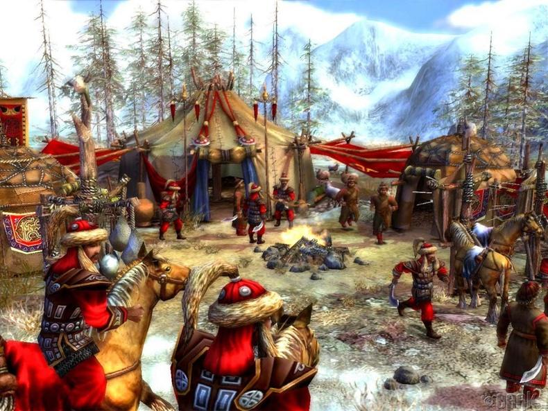 Чингис хаан эзэнт гүрнийг хувааснаар Алтан ордны улс үүссэн