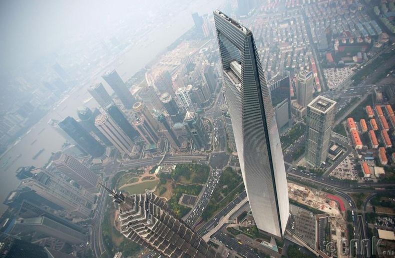 """Shanghai World Financial Center"" - 1.1 тэрбум доллар"