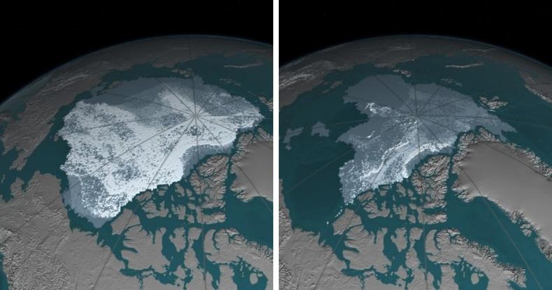 Хойд мөсөн далайн хайлалт